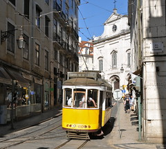 Lisbon Portugal 21st April 2013 (loose_grip_99) Tags: street city portugal cityscape traffic lisboa lisbon tram 555
