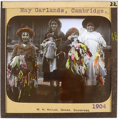 May Garlands for May Day (maaCambridge) Tags: cambridge children may folklore mayday rhyme garlands englishfolklore