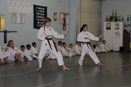 Some of our  Brown Belts