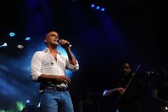 Eyal Golan, an Israeli singer, performed for t...