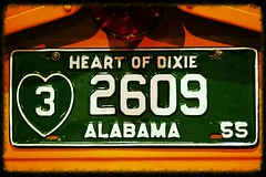 18/52 in 2013 - History Love (lorainedicerbo) Tags: bus history love alabama licenseplate rosaparks heartofdixie 1852in2013