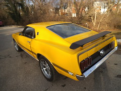 """1969  Ford Mustang Mach 1 • <a style=""""font-size:0.8em;"""" href=""""http://www.flickr.com/photos/85572005@N00/8750456179/"""" target=""""_blank"""">View on Flickr</a>"""