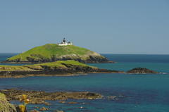 Irish Lighthouse (DrRSatzteil) Tags: ireland sea lighthouse island coast shore