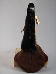 Designer Pocahontas 11 1/2'' Doll - First Look - Deboxed - Standing - Full Rear View (drj1828) Tags: doll princess limitededition pocahontas disneystore firstlook deboxed disneyprincessdesignercollection 1112inch