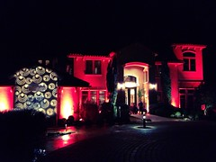 Amber/Champagne Lighting - Architectural Lighting - Projection Mapping