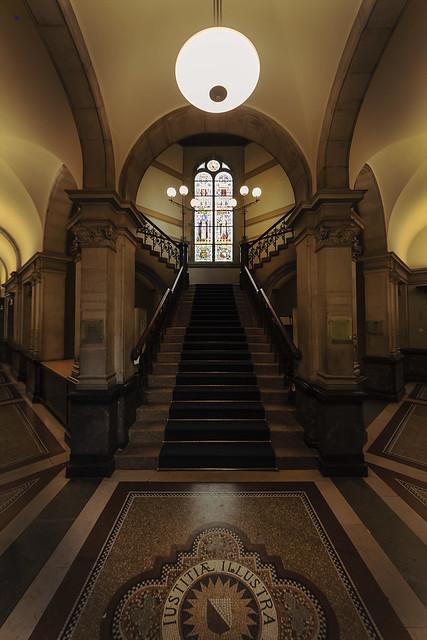 justitia illustra stairs