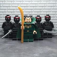 The Demon's Head (njgiants73) Tags: city comics dc al lego head batman knight superheroes gotham asylum ras league villains origins demons assassins arkham ghul