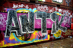 graffiti amsterdam (wojofoto) Tags: amsterdam graffiti wojofoto wolfgangjosten nederland holland netherland antik ndsm