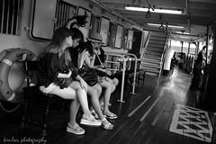 untitled (~kenlwc) Tags: life street leica city travel urban hk girl monochrome lady 35mm hongkong mono legs candid snap starferry kenleung leicam9 summilux35mmpreasph kenlwc