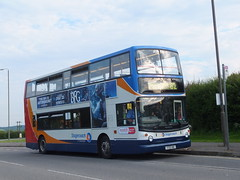 Stagecoach 17007 Markham Vale (Guy Arab UF) Tags: west bus london buses derbyshire south yorkshire 1999 vale east alexander dennis chesterfield stagecoach markham trident 17007 alx400 ta7 s807bwc 1737he