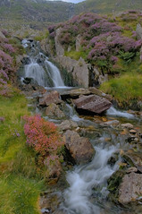 ~nature in motion~ (Lee~Harris) Tags: water waterfall outdoor rugged landscape colours motion flow flowingwater nature rocks wales longexposure creek watercourse stream