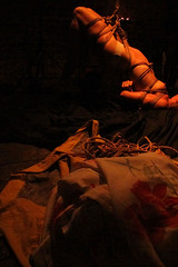 shibari_londondrawing_august16_8869 (London Drawing) Tags: lifedrawing lifedrawinglondon lifedrawingandperformance lifedrawingperformance shibari japanese rope thecryptgallery gestelta japaneserope candlelit