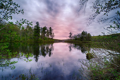 Another-Sunrise-At-WC (desouto) Tags: nature hdr landscape trees rivers pond lake reflections sky clouds
