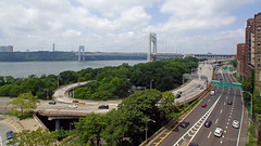 New York City | George Washington Bridge 01 (Christopher James Botham) Tags: nyc newyork newyorkcity gwb georgewashingtonbridge bridge hudson hudsonriver river riverfront manhattan city cityscape urban skyline nj newjersey street streetscape highway freeway expressway day daylight