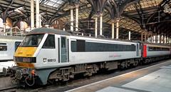 UK, London Liverpool Street, Class90 013 (Nik Morris (van Leiden)) Tags: nx300 uk england train bahn trein brel class90 abellio greaterangliarailways londonliverpoolstreetstation
