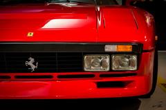 Ferrari 288GTO (glank27) Tags: ferrari 288gto maranello museo karl glanville prancing horse cavallino rampante 400bhp 1984 supercar front sports red canon eos 70d efs 1585mm f3556 cars turbo