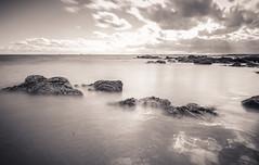 Fife LE (7 of 10) (Muse2k8) Tags: fife scotland long exposure coast coastal sea beach black white zig zag st monans