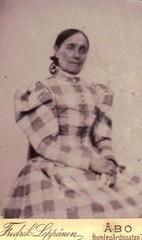 Ulrika Wahlroos (Kuvassa - valokuvia suomalaisista ry) Tags: finland turku bo leppnen juhahartikaisenkokoelma wahlroos 1896
