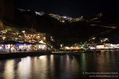 Ammoudi Bay at Night. Santorini, Greece