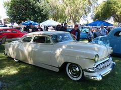 1954 Chevy Custom (bballchico) Tags: 1954 chevrolet custom chopped billetproof billetproofantioch carshow