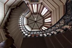 Hamburg stairs (michael_hamburg69) Tags: hamburg germany deutschland hamburguhlenhorst uhlenhorst stgertrudkirche sanktgertrud church kirche johannesotzen neugotisch neugotik gertrudvonnivelles tagdesoffenendenkmals2016