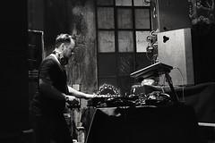 Marcel Fengler @Bunker, torino (lanevegianluca) Tags: techno music bunker torino genau blackandwhite biancoenero italia