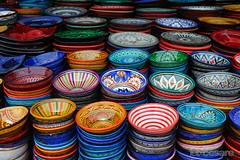 Moroccan Ceramics. (Photographing_The_World) Tags: morocco marokk travel travelphotography arabic africa muslimcountry culture wanderlust explore people northafrica moroccan moroccanculture moroccancolors moroccancolours moroccanpeople africanpeople discovermorocco exploremorocco marrakesh marrakech fes fez agadir asilah essaouira merzouga sahara maroc chefchaouen colors travelphotos arabicculture arabicpeople travelblog muslimpeople muslimculture diversity multicultural locals locallife moroccanlifestyle moroccanlife moroccanceramics colorful colorfulceramics colorfulceramic pottery colorfulpottery plates ceramicplates moroccanceramicplates handmade handmadeceramic handmadepainting