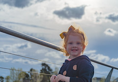 Portrait of Mackenzie (Trav H) Tags: australia family humanbeing lakesidepakenham mackenzie melbourne pakenham people person portrait victoria