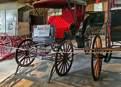 1900 Auto Top surry (SteveMather) Tags: 1900 carriage newyorker block ice tongs autotopsurry 2016 mahoning canfield fair youngstown fairgrounds oh ohio horse drawn county westernreservevillage