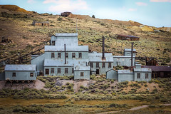old mill in Bodie (Karol Franks) Tags: bodie california historical park ghost town abandoned buildings gold silver mine mill standard vintage
