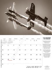 Julio 2017 (Ismael Jorda) Tags: calendario fotografía aeronáutica calendar aviation photo ismaeljorda airbus sukhoi catalina orlik f18 f35 p38 corsair 43grupo canadair patrullaaguila mirage tigermeet eurofighter ala14 ala15 ejercitodelaire aerosparx