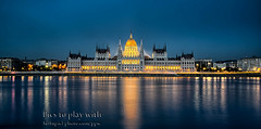"""Klaus Herrmann's """"The Parliament"""" (micebook) Tags: hungary budapest europe buildings local town city bridge tower culture synagoge castle architecture centre tourism ruins soldiers streets roads railings sky water"""