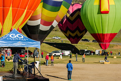 Snowmass Balloon Festival - 1 (k.pat) Tags: snowmass balloon festival hotair hot air colorado aspen village fly high sky soar launch photo photography rockie mountains altitude colorful colors
