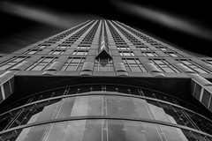 IMG_3665 (2) (lairdofogroates) Tags: tower mainhattan skyscraper black white canon looking up longexposure