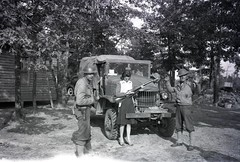 57th Infantry Brigade 033 (rich701) Tags: vintage old negatives ww2 military 1940s blackandwhite worldwartwo bw 44thinfantrydivision newjerseynationalguard 57thinfantrybrigade ng njng fortdix nationalguard newjersey nj njarng