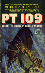 Novel-PT-109-by-Robert-J-Donovan (Count_Strad) Tags: novel cover art coverart book western scifi wwii