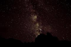 Milky Way Above The Mountains (wrgenec) Tags: milky way kalalau beach hawaii kauai outdoors stars sky night photography mountains gazing backpacking camping