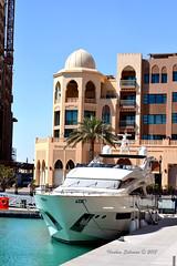 - (Ibrahim Alsaigh) Tags: sea marina island boat nikon gulf qatar nikon3100             nikond3100