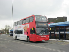 4803 BX09 PEO - unusual working (nitromatt1) Tags: bus station 30 march nest garage working saturday 400 dudley 30th unusual alexander dennis wrens stourbridge enviro peo wollaston 2013 4803 pensnett x96 enviro400 bx09