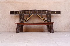 850E6613 - A small bench (crimsonbelt) Tags: street heritage bench dubai village small