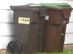 Ram Waste (Scott (tm242)) Tags: trash dumpster truck can bin container otto tub cart refuse recycle recycling crate ssi cascade lid roto schaefer rmi rehrig rotonics rotomold
