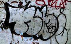 Graffiti Found In Lower Manhattan. NB 40. (Allan Ludwig) Tags: graffiti lowermanhattan nb40