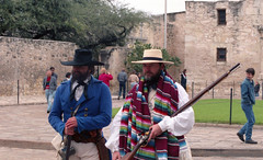 The Alamo (Tejas Cowboy) Tags: mexico san texas tx revolution antonio alamo reenactment the 1836