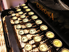 Smith Corona folding 3 row typewriter (MarkGregory007) Tags: typewriter smithcorona