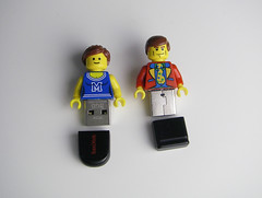 Lego USB-flash drives (Legostudio01) Tags: computer drive lego flash usb stick selfmade selbst minifigures gemacht minifiguren