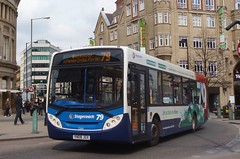 YN08JGX Stagecoach Yorkshire MAN 18.240 22614 (Sharksmith) Tags: bus sheffield route79 stagecoach 22614 pinstonestreet stagecoachyorkshire adlenviro300 man18240 yn08jgx