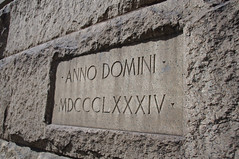 (Shane Henderson) Tags: architecture downtown pittsburgh cornerstone romannumerals centralbusinessdistrict 1884 annodomini datestone alleghenycountycourthouse mdccclxxxiv