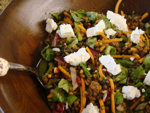 Love Lentil Salad with Vegan Feta