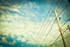 Sometimes change is good. (Pashen Photography) Tags: sky clouds photography powerlines beautifulday