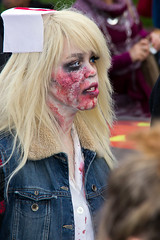 "Montreal Zombie Walk 2012-10-20 (Martin Ujlaki-All photos ""copyright Martin Ujlaki"") Tags: montreal zombiewalk martinette martinujlaki marchedeszombies"